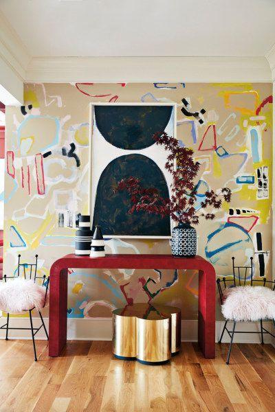 Dom umetnice Angele Chrusciaki Blehm je umetnička instalacija u boji (фото 7)
