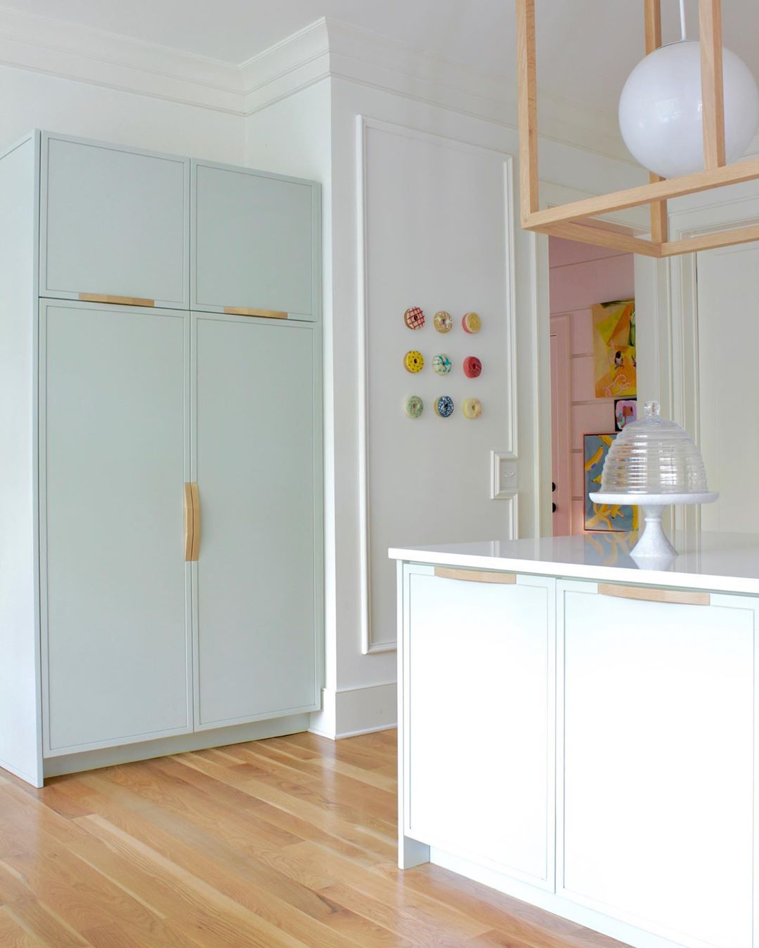 Dom umetnice Angele Chrusciaki Blehm je umetnička instalacija u boji (фото 5)