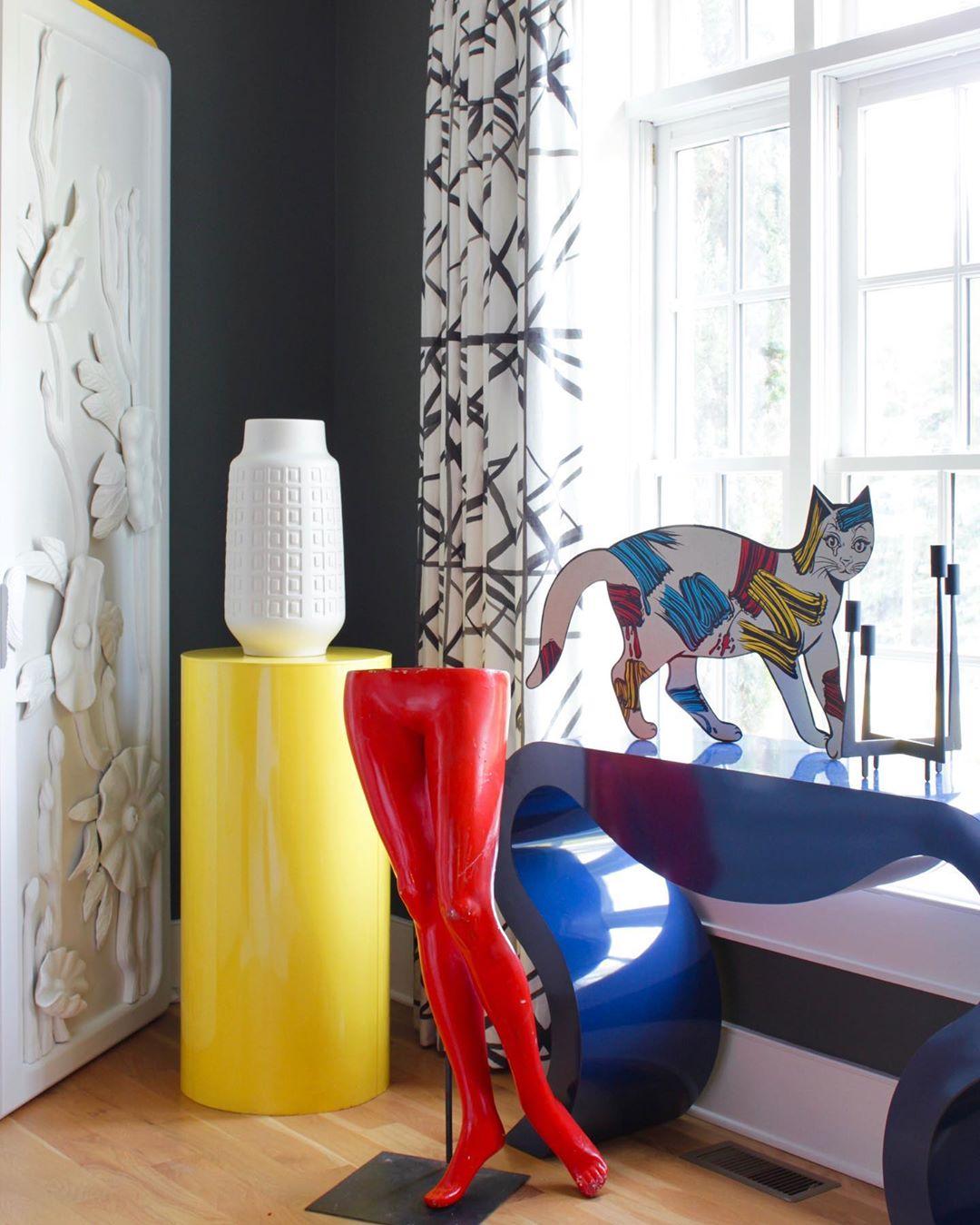 Dom umetnice Angele Chrusciaki Blehm je umetnička instalacija u boji (фото 2)