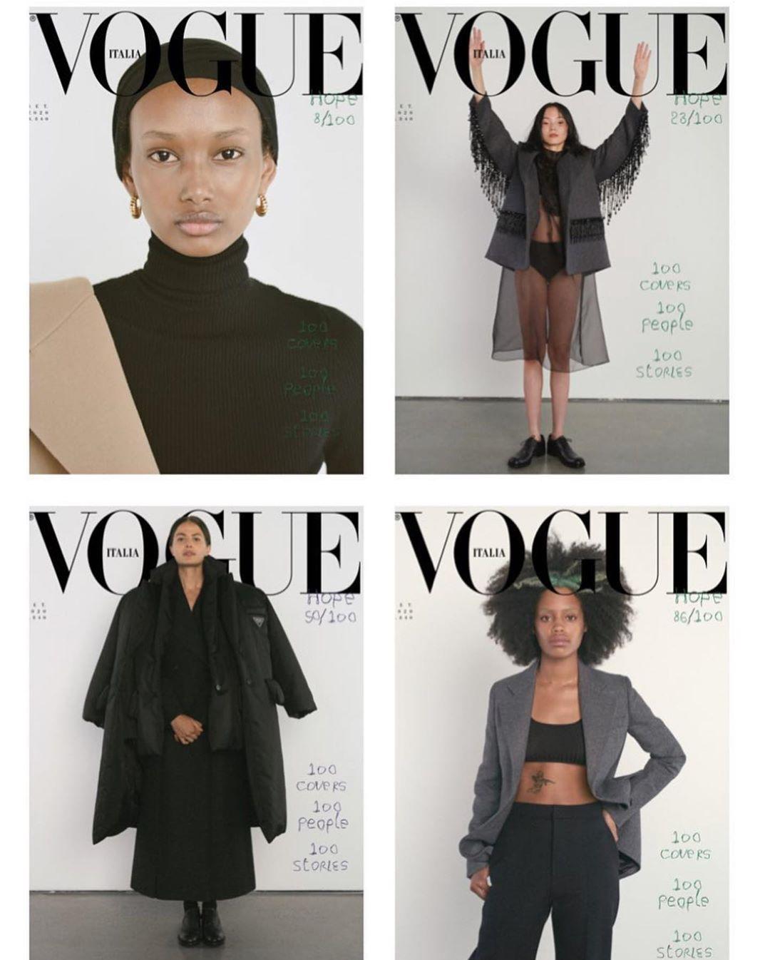 Vogue Italia ima najveći poduhvat ikad: 100 naslovnih strana (фото 1)