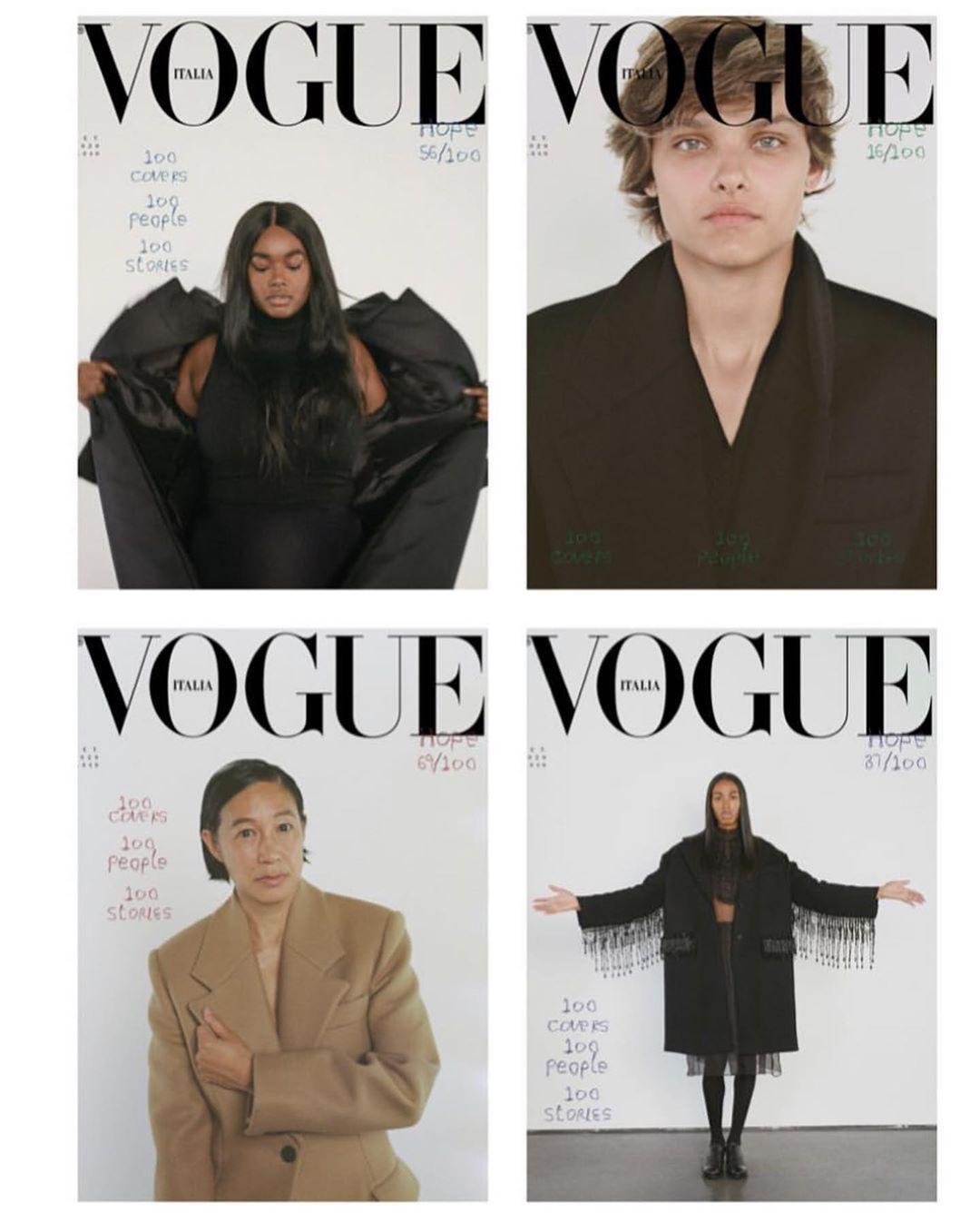 Vogue Italia ima najveći poduhvat ikad: 100 naslovnih strana (фото 3)