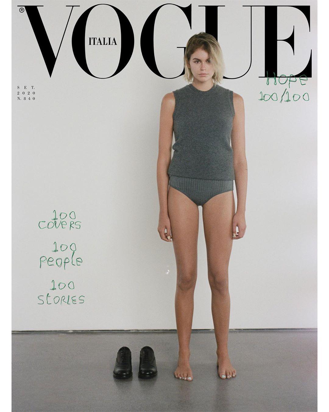 Vogue Italia ima najveći poduhvat ikad: 100 naslovnih strana (фото 2)